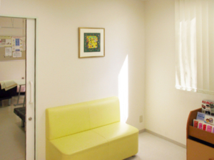 院内 待合室の写真